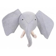 Kidsdepot Kids Depot ZOO stier van de olifant hoofd trofee blauw