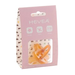 Hevea Hevea pacifiers flower from 3 months, orthodontic