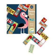 Djeco Djeco educatief spel Domino Dieren puzzel