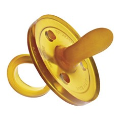 Goldi Sauger Goldi speen rubber natuurlijke vorm ovaal S