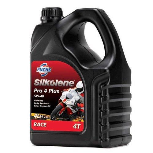 Fuchs Silkolene Pro 4 XP 5W-40 Vol Synthetisch Motorolie 4L
