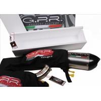 GPR Uitlaat Race Deeptone Black Inox KTM RC 390