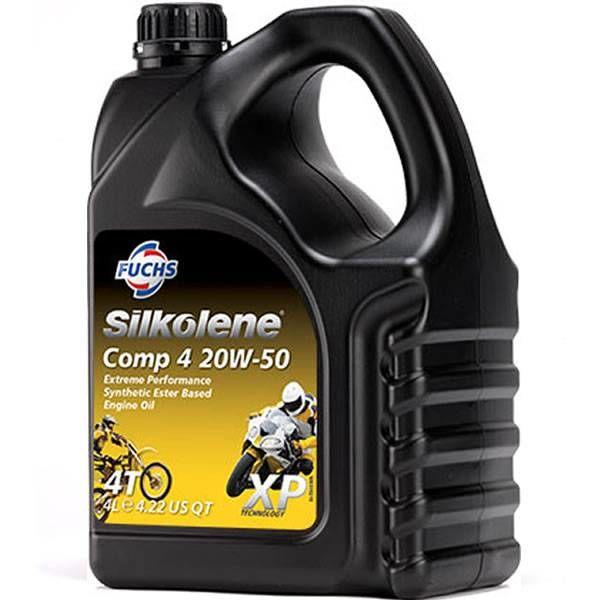 Fuchs Silkolene  Comp 4 20W-50 XP 4L Ester basis Semi synthetische 1L