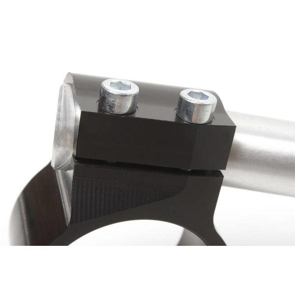 PP Tuning Clip-on houder verstelbaar Zwart Geanodiseerd of Gepolijsd