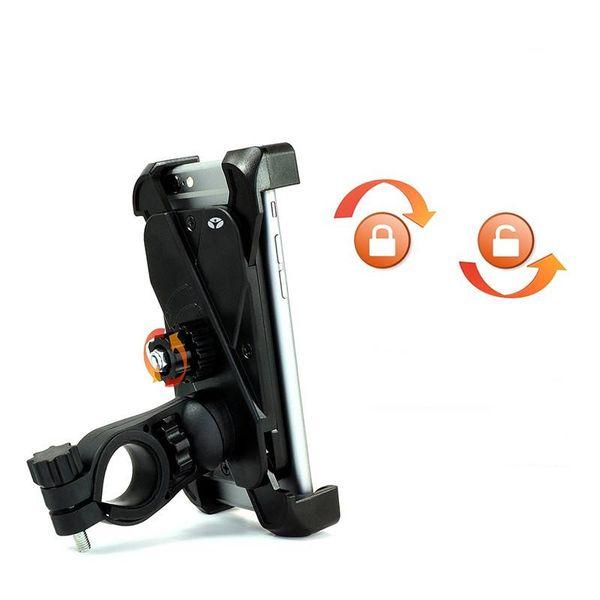 Accessori Italy Universele Smart Telefoonhouder Voor Motor & Scooter Montage Stuur