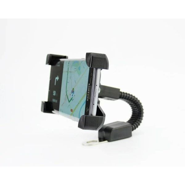 Accessori Italy Universele Smart Telefoonhouder Voor Motor & Scooter Montage Spiegel