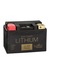 Intact Battery Bike-Power Motorfietsbatterij Lithium Ion LI-03 12,8V 4Ah