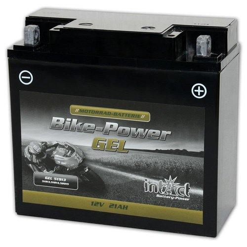 Intact Battery GEL 51913 12V 21Ah BMW met ABS Gel51913