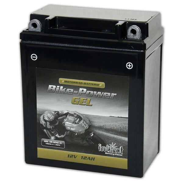 Intact Battery Motorfietsbatterij GEL YB12AL-A 12V 12Ah 51213 Gel12-12AL-A