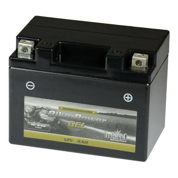 Intact Battery Motorfietsbatterij GEL YTZ5-S 12V 4Ah Gel12-5ZS