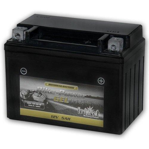 Intact Battery GEL YB4L-B 12V 5Ah 50411 Gel12-4L-B