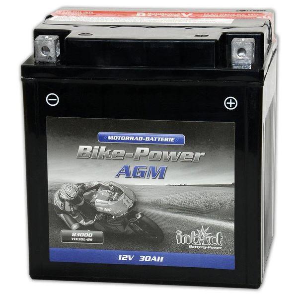 Intact Battery Motorfietsbatterij AGM YIX30L-BS 12V 30Ah 83000