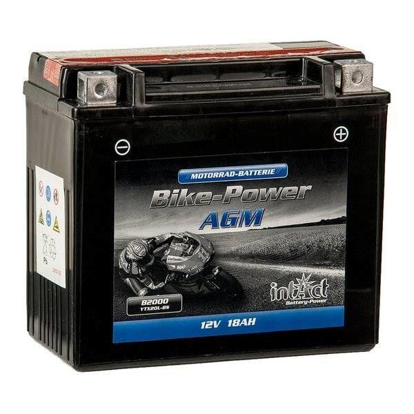 Intact Battery Motorfietsbatterij AGM YTX20L-BS 12V 18Ah 82000