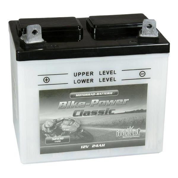 Intact Battery Motorfietsbatterij Classic 52430 U1 (9) 12V 24Ah