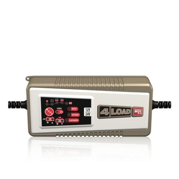 Intact Battery 4Load Acculader 7.0 Druppellader CB7.0 1,2 Ah tot 230 Ah en 24 V van 14 Ah tot 120 Ah