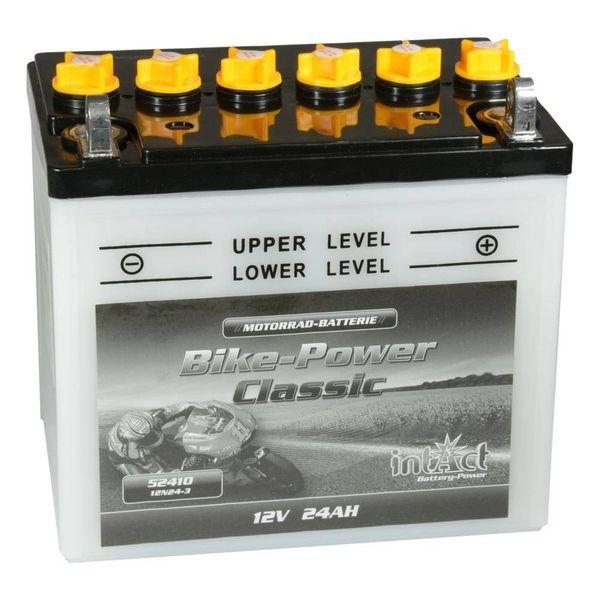 Intact Battery Motorfietsbatterij Classic 12N24-3 12V 24Ah 52410