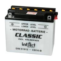 Intact Battery Motorfietsbatterij Classic YB16-B 12V 19Ah 51912