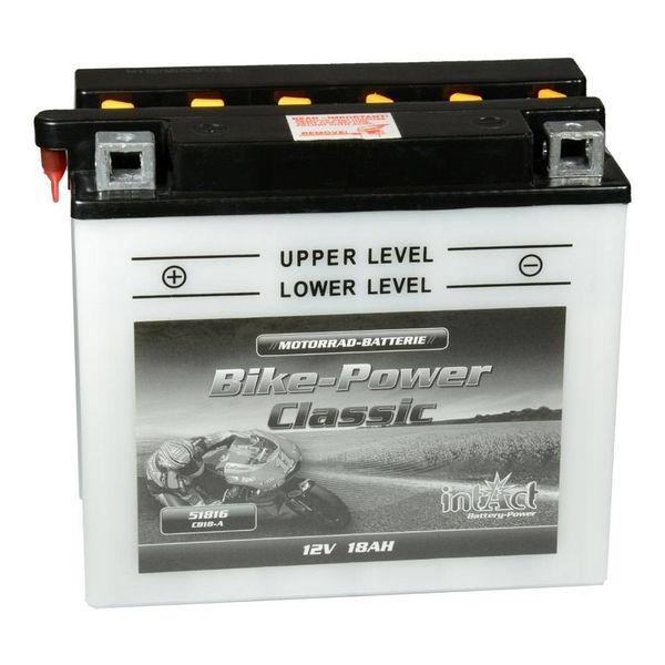 Intact Battery Motorfietsbatterij Classic YB18-A 12V 18Ah 51816
