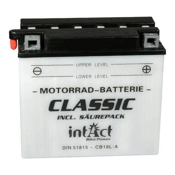Intact Battery Motorfietsbatterij YB18L-A 12V 18Ah 51815
