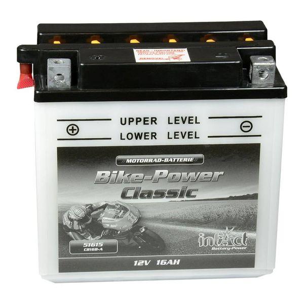 Intact Battery Motorfietsbatterij Classic YB16B-A 12V 16Ah 51615