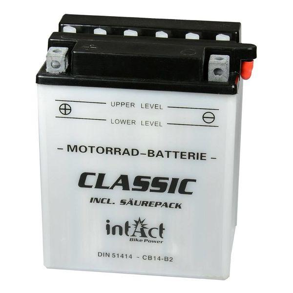 Intact Battery Motorfietsbatterij Classic YB14-B2 12V 14Ah 51414