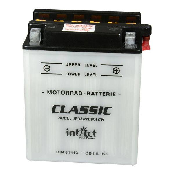 Intact Battery Motorfietsbatterij Classic YB14L-B2 12V 14Ah 51413