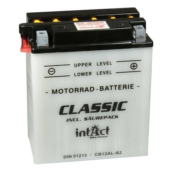 Intact Battery Motorfietsbatterij Classic YB12AL-A2 12V 12Ah 51213