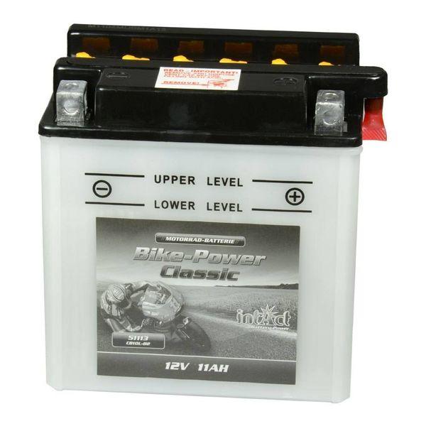 Intact Battery Motorfietsbatterij Classic YB10L-B2 12V 11Ah 51113