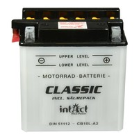 Intact Battery Motorfietsbatterij Classic YB10L-A2 12V 11Ah 51112