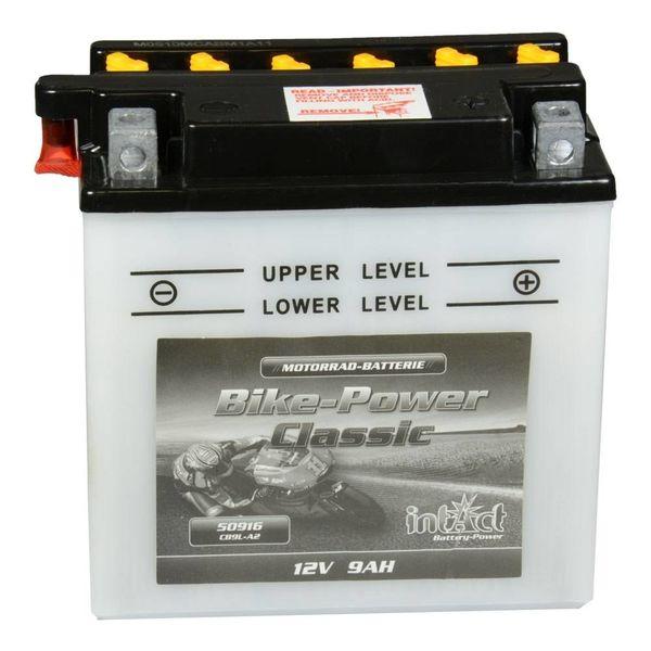 Intact Battery Motorfietsbatterij Classic YB9L-A2 12V 9Ah 50916