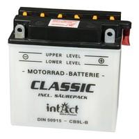 Intact Battery Motorfietsbatterij Classic YB9L-B 12V 9Ah 50915