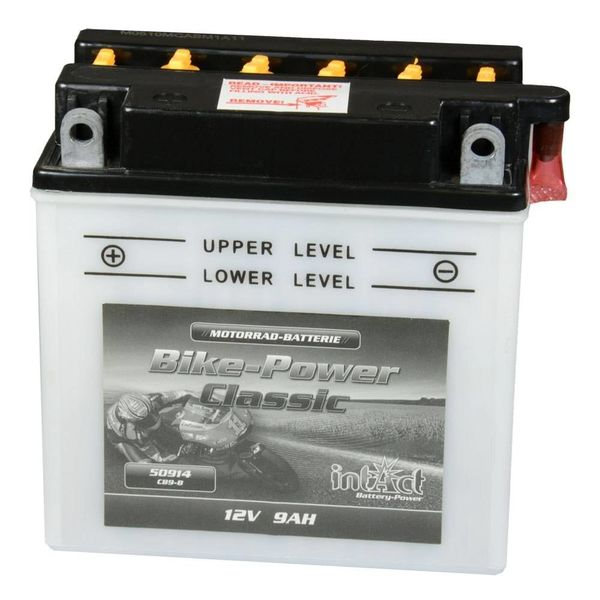 Intact Battery Motorfietsbatterij Classic YB9-B 12V 9Ah 50914