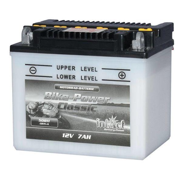 Intact Battery Motorfietsbatterij Classic YB7C-A 12V 8Ah 50811