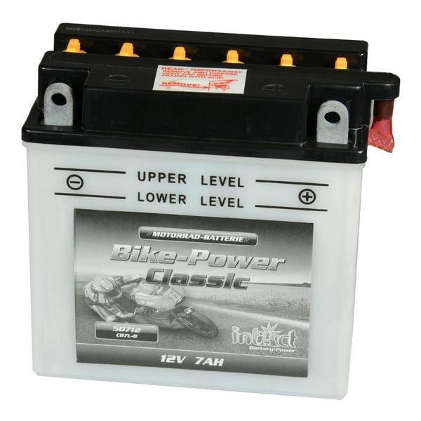Intact Battery Motorfietsbatterij Classic YB7L-B 12V 7Ah 50712