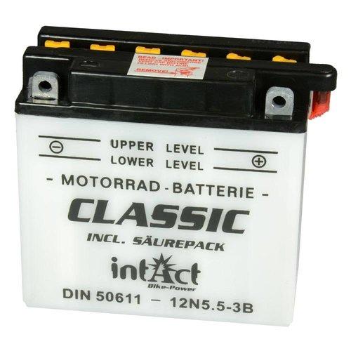 Intact Battery Classic 12N5.5-3B 12V 5.5Ah 50611