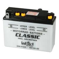 Intact Battery Motorfietsbatterij Classic 6N12A-2D 6V 12Ah 01225