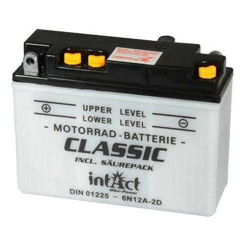 Intact Battery Classic 6N12A-2D 6V 12Ah 01225