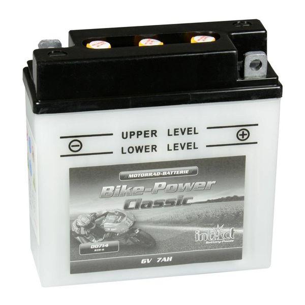 Intact Battery Motorfietsbatterij Classic B39-6 6V 7Ah 00714