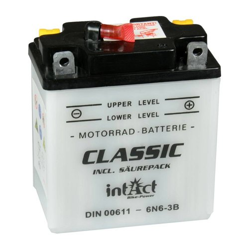 Intact Battery Classic 6N6-3B 6V 6Ah 00611