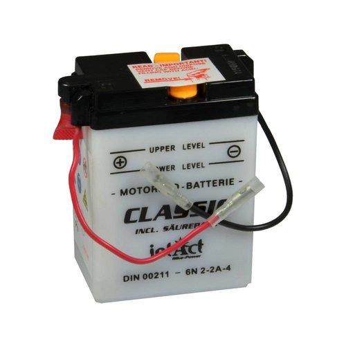 Intact Battery Classic 6N2-2A-4 6V 2Ah 00211