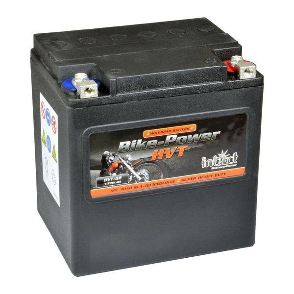 Intact Battery Motorfietsbatterij HVT YIX30L-BS 12V 30Ah HVT-02
