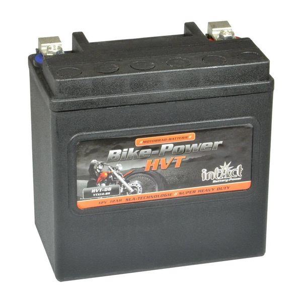 Intact Battery Motorfietsbatterij HVT YTX14-BS 12V 12Ah HVT-08