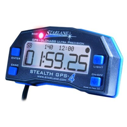 Starlane Stealth 4 GPS Lite Snelheids rondetijd meter