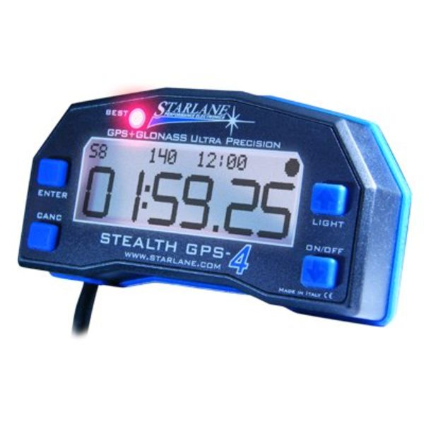 Starlane Starlane Stealth GPS 4 Lite Snelheids rondetijd meter