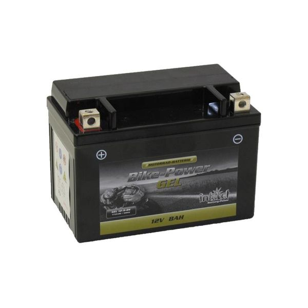 Intact Battery Motorfietsbatterij GEL YT9B-4 12V 8Ah