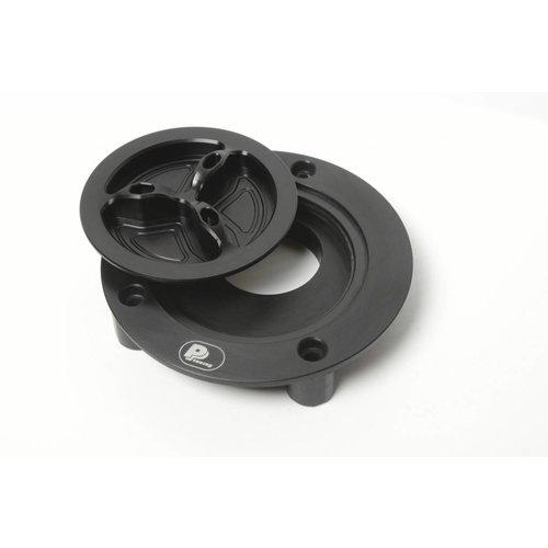 PP Tuning Tankdop zwart met snelsluiting Yamaha Modellen