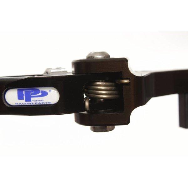 PP Tuning Yamaha R6 2003-2004 Remhendel Kort Verstelbaar Zwart Geanodiseerd