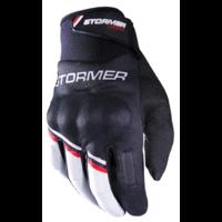 Stormer  Urban Gloves Zwart Rood Vrijetijdshandschoen homologatie EN13594