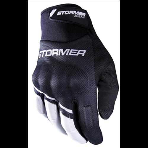 Stormer  Urban Gloves Zwart Wit homologatie EN13594
