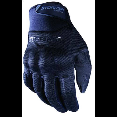 Stormer  Urban Gloves Zwart homologatie EN13594